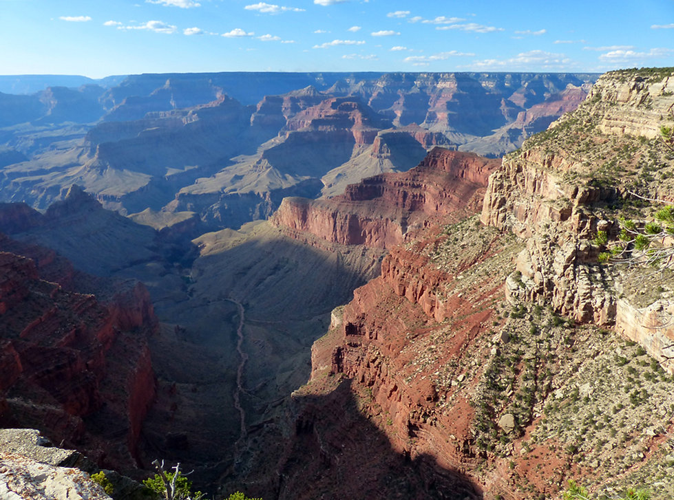 Grand Canyon National Park Rim Trail The Abyss