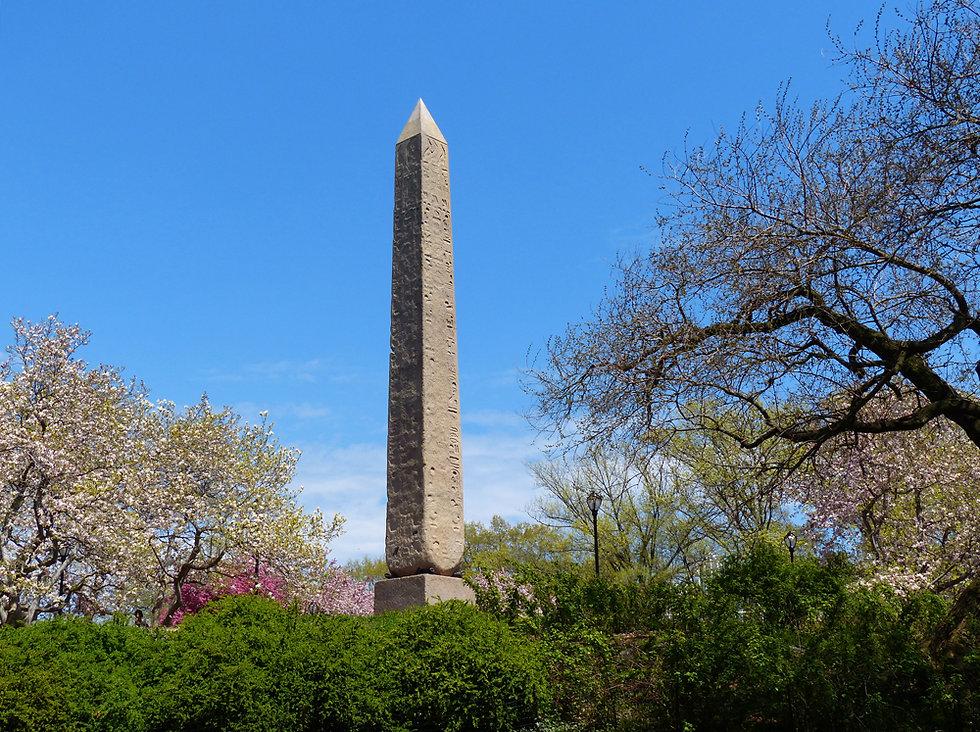 New-York - Central Park - obélisque
