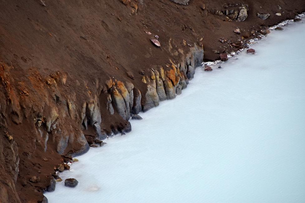 Askja caldeira volcan volcano lac viti cratère crater