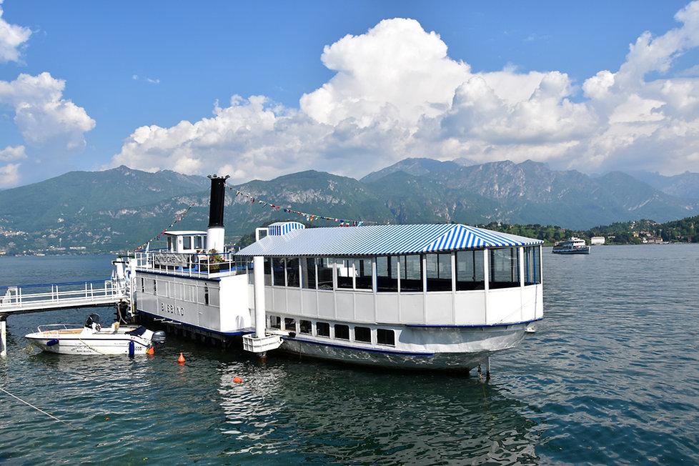 lac de côme lenno bateau