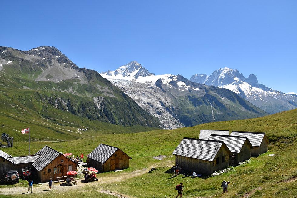 Chamonix - Aiguillette des Posettes - Chalets de Balme