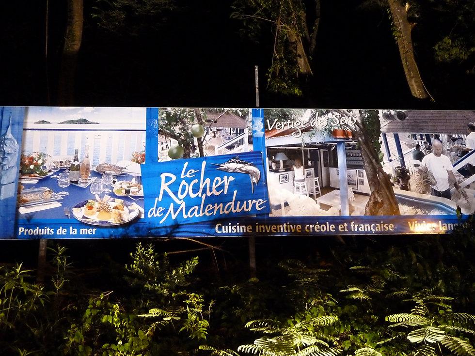 Le rocher de Malendure - Restaurant