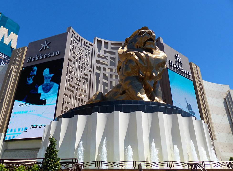 Las Vegas MGM Grand lion