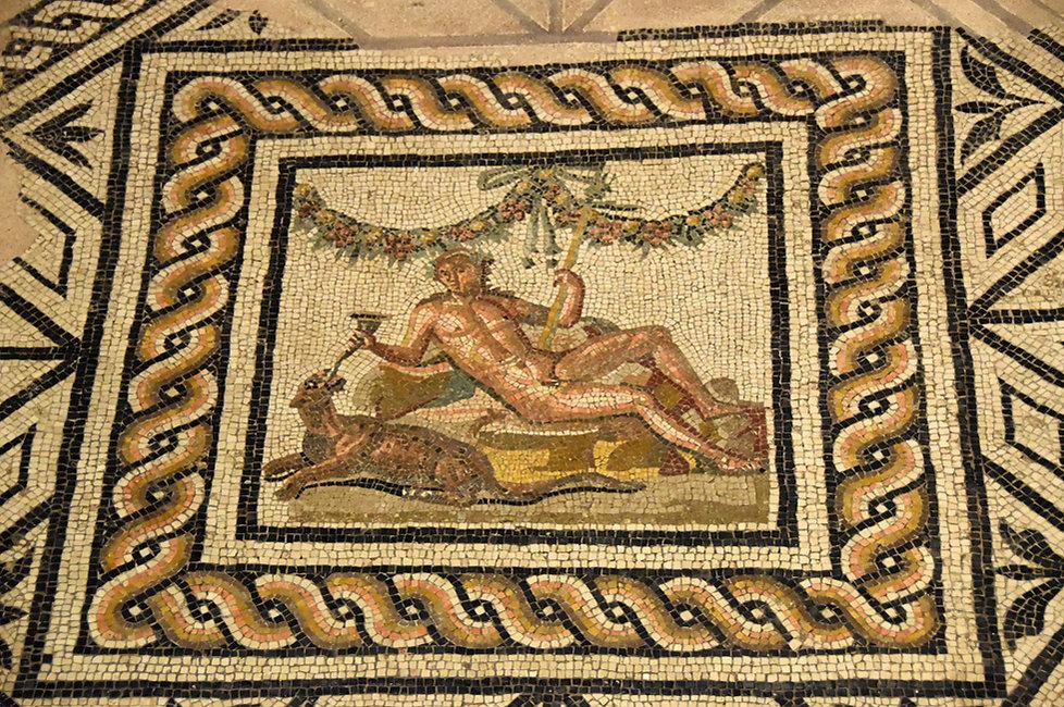 Brescia Santa Giulia musée Domus dell' Ortaglia mosaique
