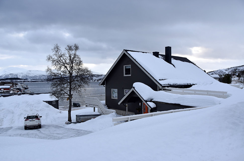 Norvège - Eidkjosen - Airbnb - tromsø