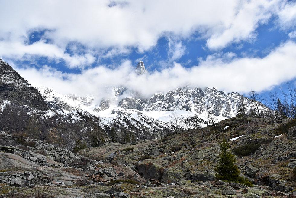 Chamonix - Rochers des Mottets - Aiguille des Drus
