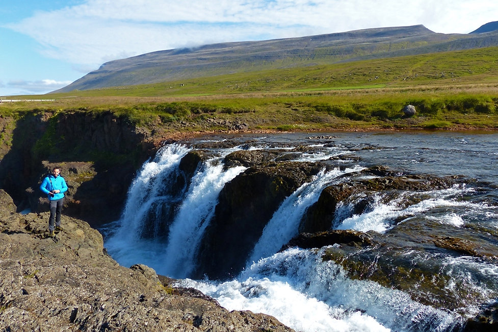 Islande Kolugljufur chute cascadeKolufoss