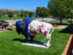 Salt Lake City sculptue bison