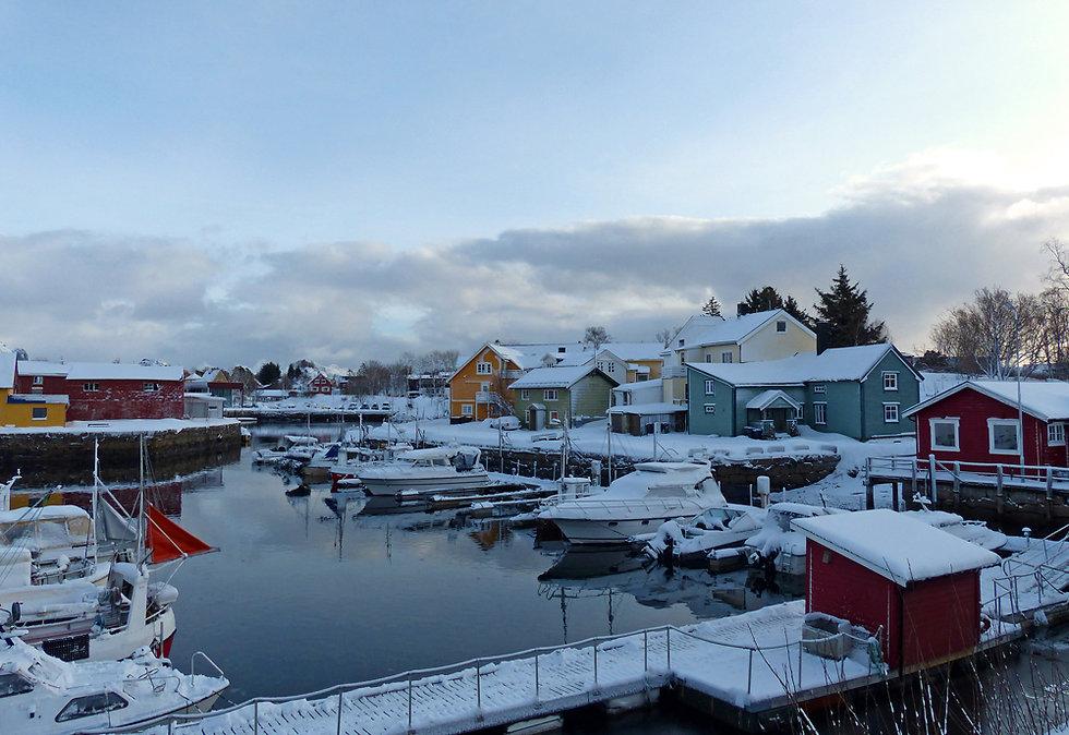 Norvège - Kabelvåg - port