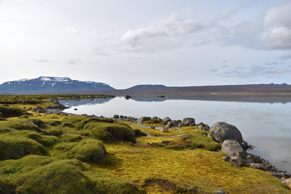 islande lac Hvítárvatn