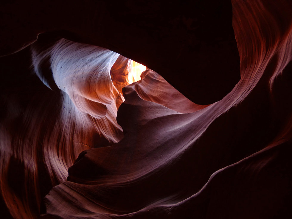 Upper Antelope Canyon coeur