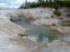 Yellowstone National Parc Norris Geyser Basin Green Dragon Spring