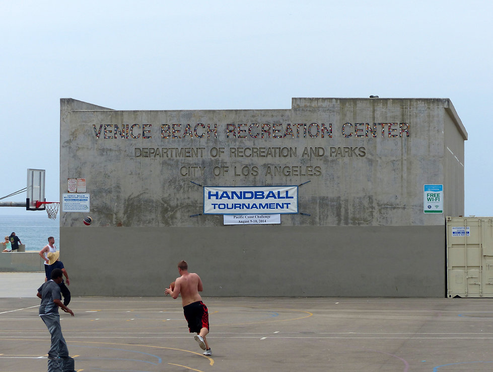 Los Angeles Venice beach recreation center american history x movie locaton