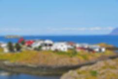 Islande Stykkisholmur maisons colorées