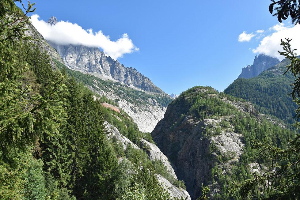 Chamonix - Lavancher - le Chapeau - Gorges Arveyron