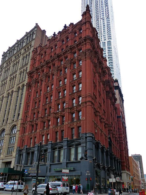 New-York - immeuble art deco