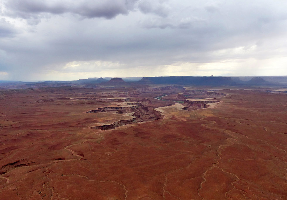 Canyonland National Park Green River Overlook