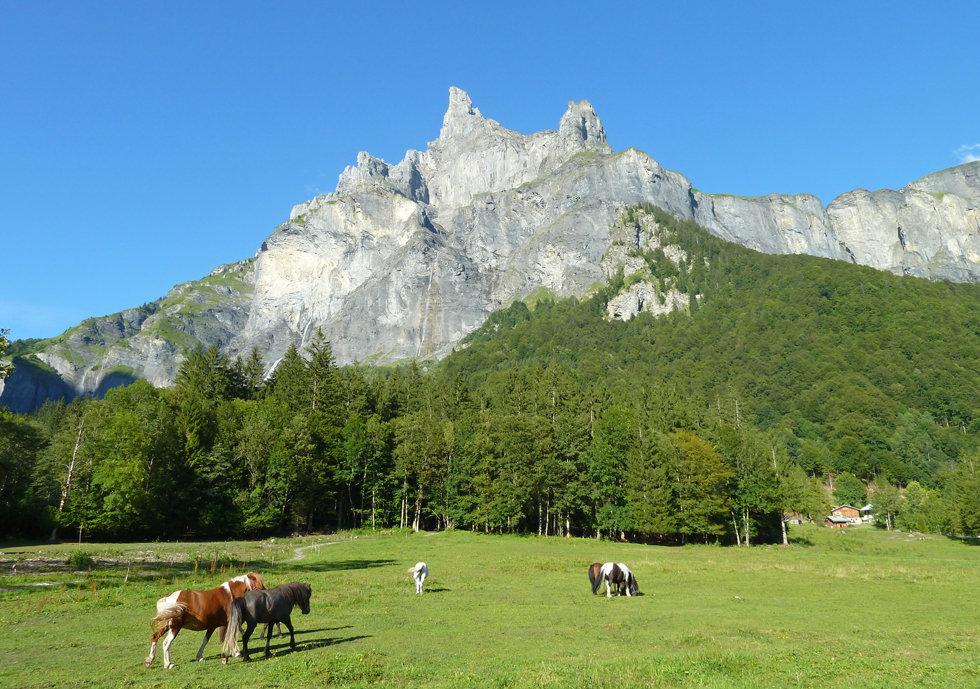 Sixt Fer à Cheval - Cirque du Fer à Cheval - Randonnée -