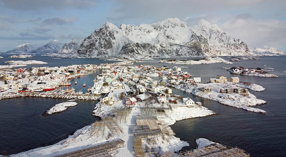 Norvège - Henningsvær - drone