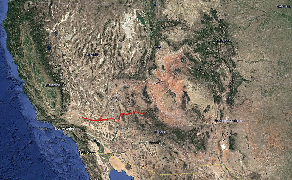 Road Trip Ouest Américain - J2