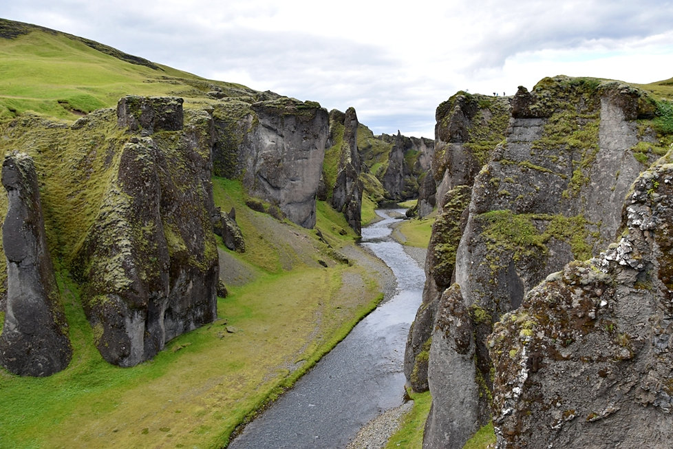 Fjaðrárgljúfur Fjadrargljufur islande iceland canyon