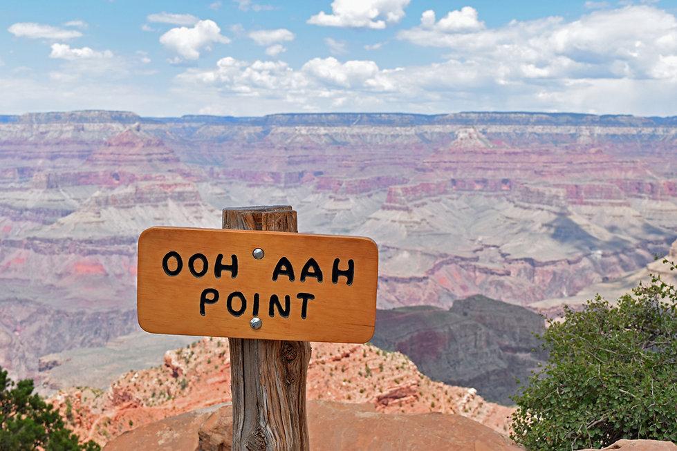 Arizona - Grand Canyon National Park - South Kaibab Trail - Ooh Aah Point