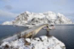 Norvège - Henningsvær - pont