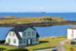Islande Stykkisholmur côte maison islandaie