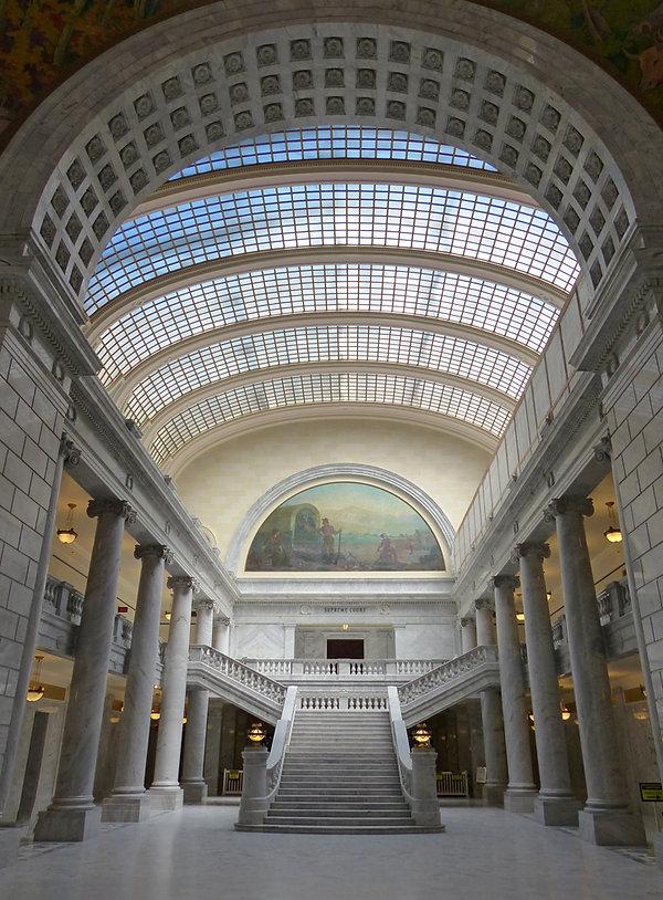 Salt Lake City capitol intérieur