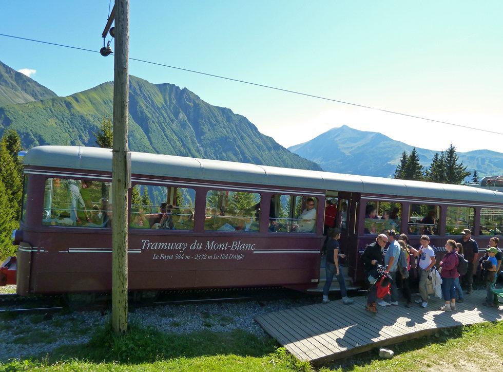 Chamonix - les Houches - Randonnée - Nid d'Aigle - TMB