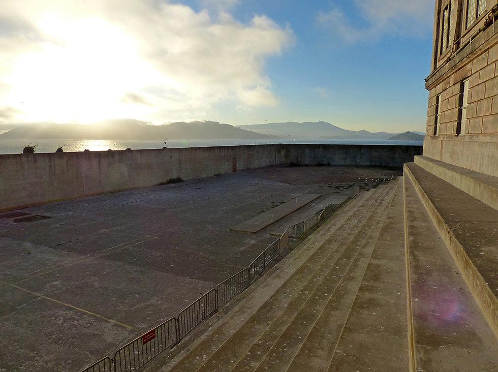 San Francisco - Alcatraz - cour
