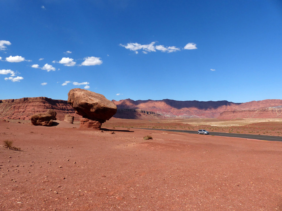 Marble Canyon Balanced Rock