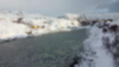 Norvège - Nyvågar Rorbuhotel - fjord