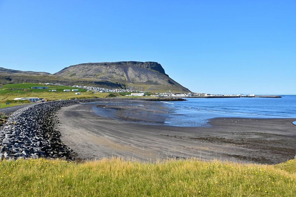 Islande Ólafsvík baie
