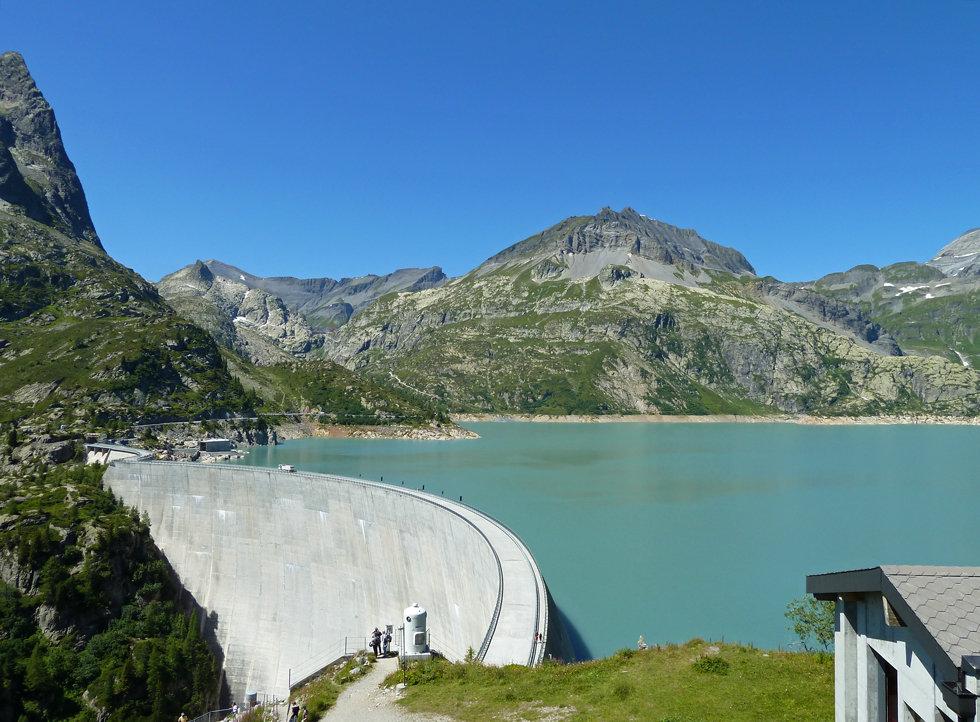 Randonnée - Emosson - Traces dinosaures - Suisse
