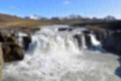 Islande piste F347 cascade Gýgjarfoss Kerlingarfjoll