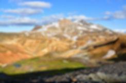 Islande massif Kerlingarfjöll