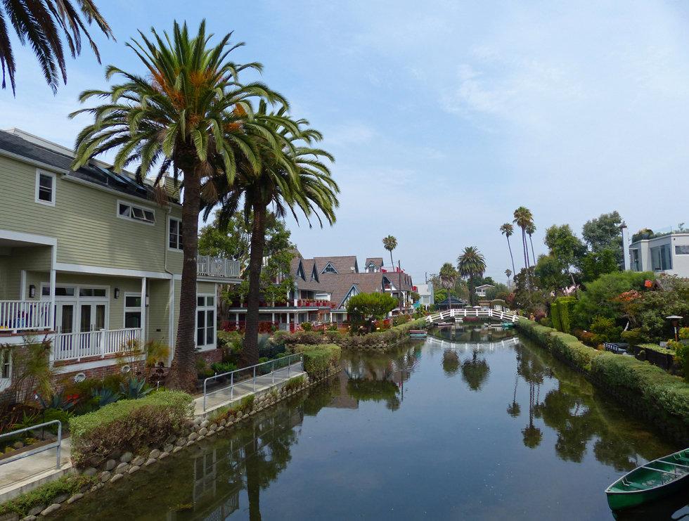 Los Angeles Venice canals