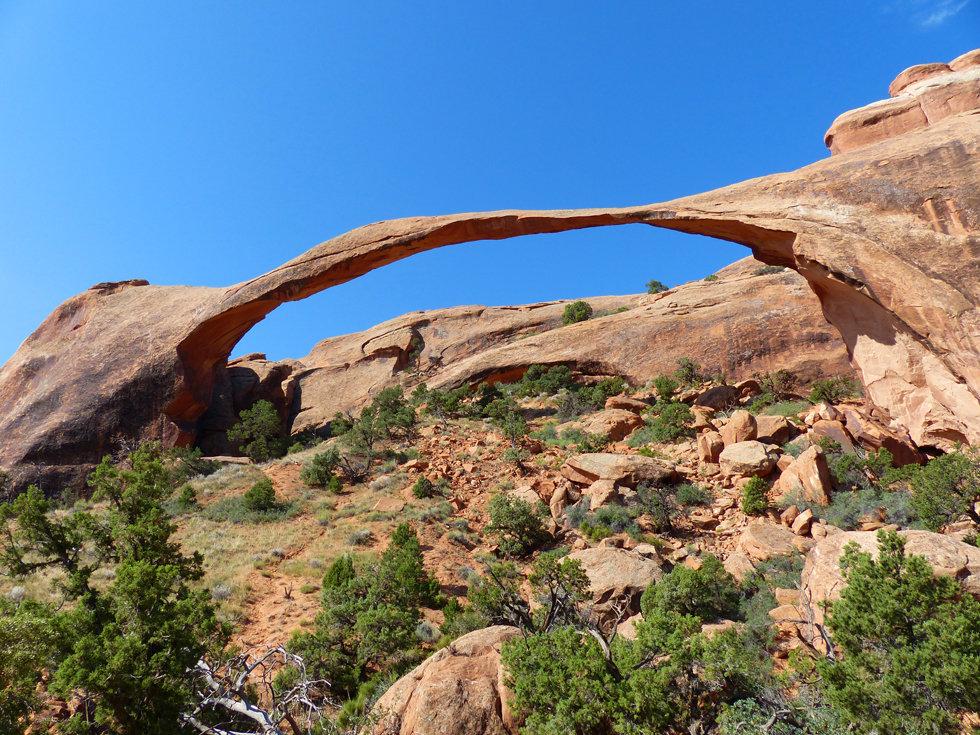 Arches National Park Devil's Garden Landscape Arch