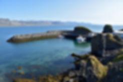 Islande arnarstapi cote port
