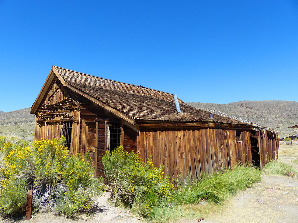 Bodie Ghost Town prison