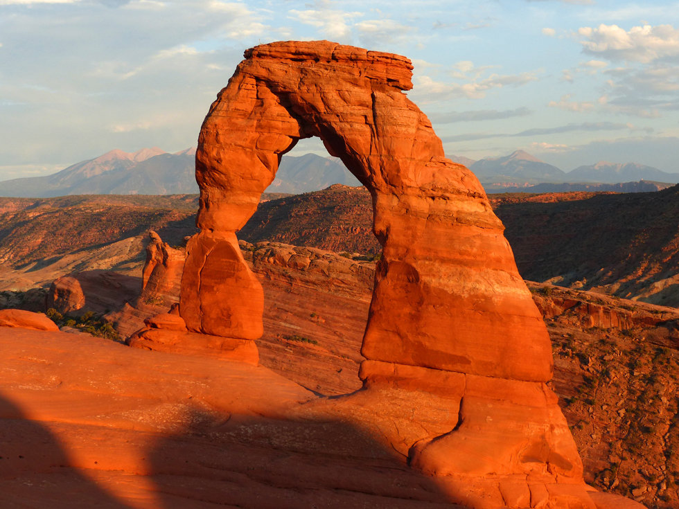 Arches National Park Delicate Arch Sunset