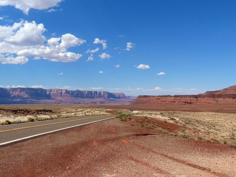 Arizona roue 89 vermillion cliffs