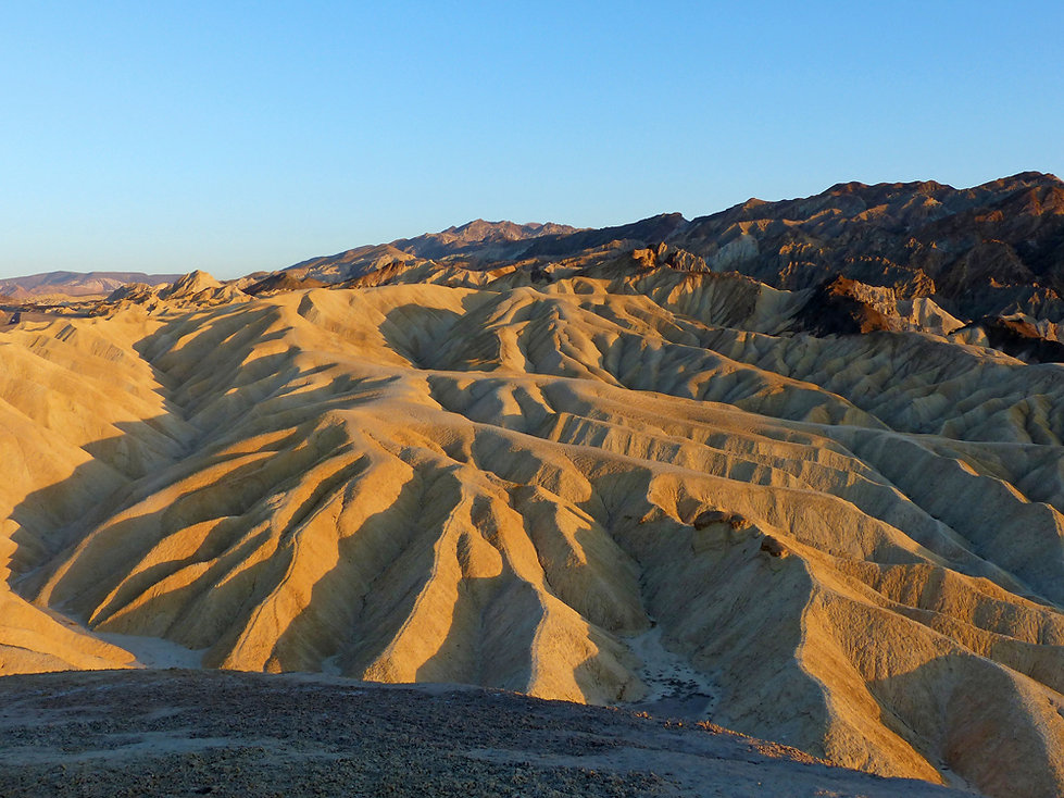 Death Valley Zabriskie Point sunset