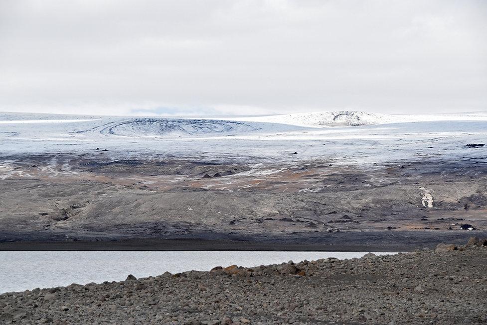 islande glacier Langjökull lac Hagavatn