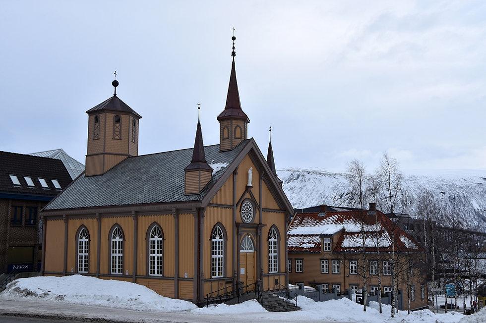 Norvège - Tromsø - Eglise Notre Dame
