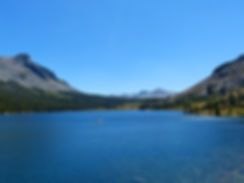 Yosemite National Park Tioga Lake