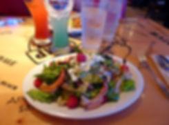 New-York - Times Square - Bubba Gump salad