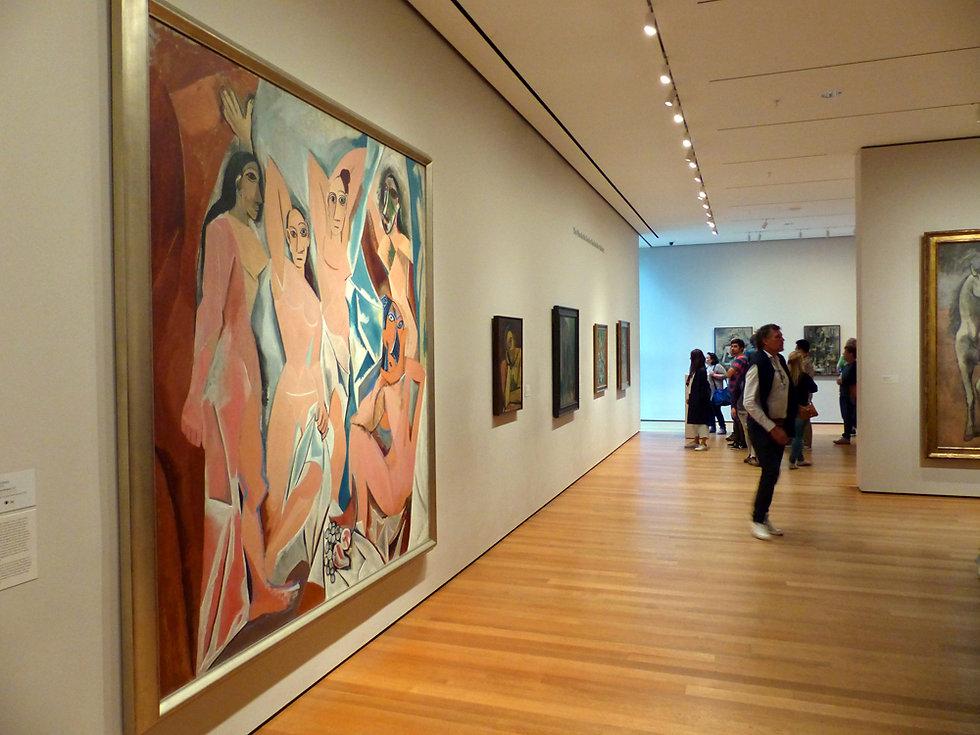 New-York - MOMA - Les demoiselles d'avignon