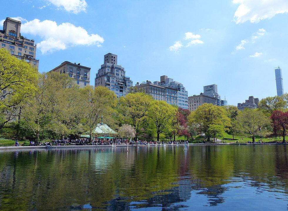 New-York - Central Park - Conservatory Pond